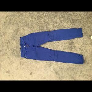 Cobalt blue Seven for all man kind jeans